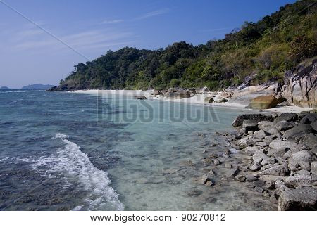 paradise island in Thailand, Koh Adang national park poster