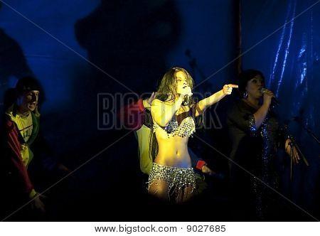 Popular Russian Singer Bianka (bjanka)