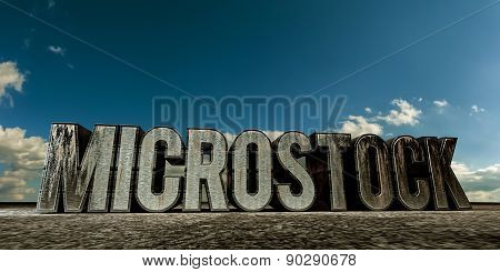 Metal Rusty Microstock Ensign