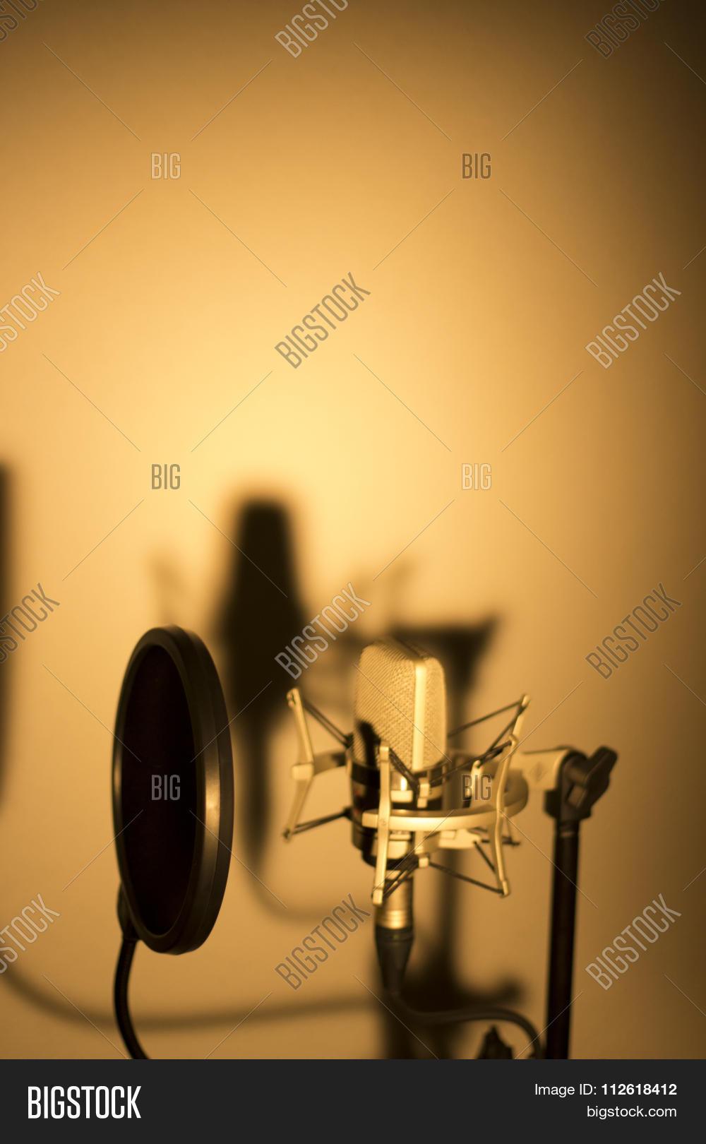 Audio Recording Vocal Image & Photo (Free Trial) | Bigstock