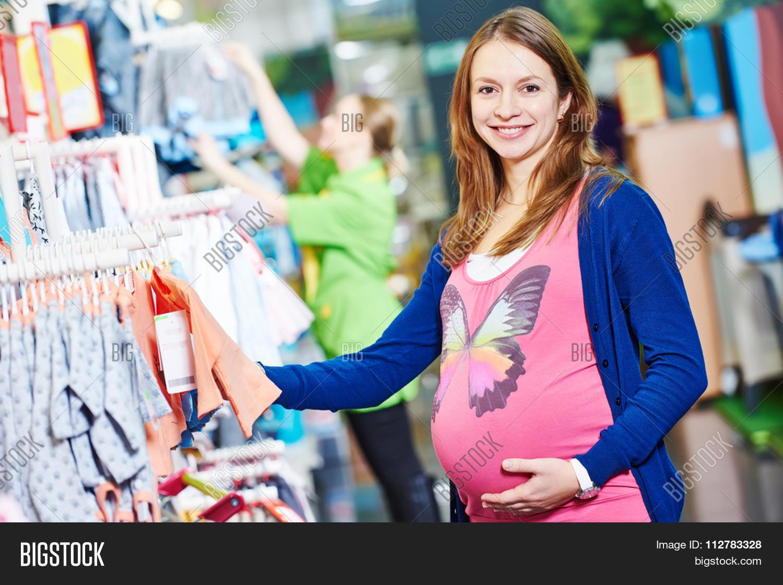 Pregnancy Shopping Image Photo Free Trial Bigstock