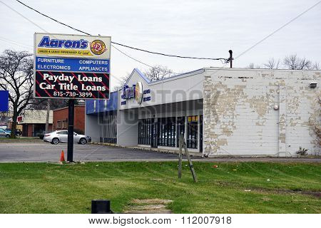 Aaron's and National Quick Cash