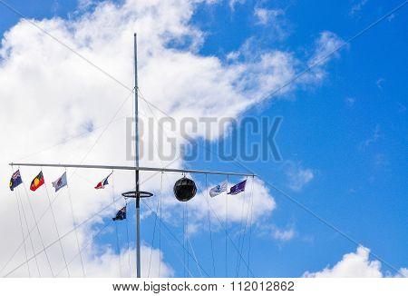 The Round House Flag Array: Fremantle, Western Australia