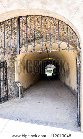 Gated Whaler's Tunnel: Fremantle, Western Australia