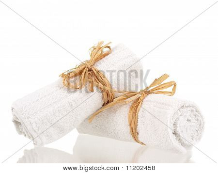 Rolled Up Towels