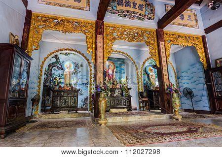 Da Nang, Vietnam - Circa August 2015: Tam Thai Pagoda In Marble Mountains, Vietnam