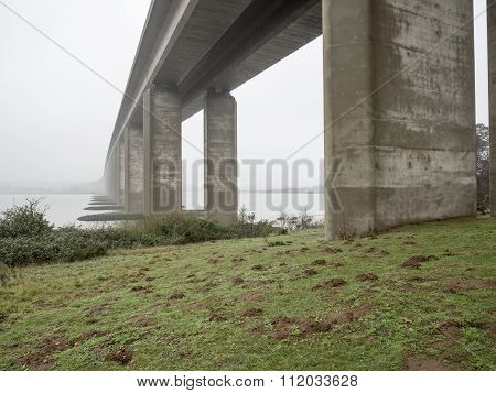Misty Morning Bridge