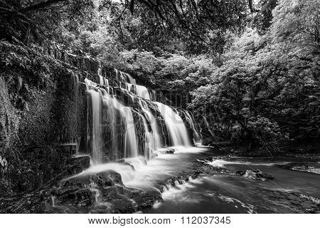 Purakaunui Waterfall, Catlins, New Zealand