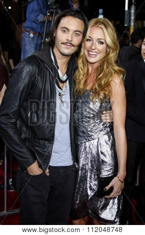 WESTWOOD, CALIFORNIA - November 16, 2009. Cat Deeley and Jack Huston at the Los Angeles premiere of