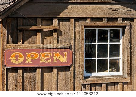 Old Cow-boy Bar Is In California