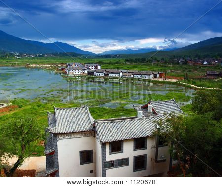 A Village Of Na-Xi Minority People