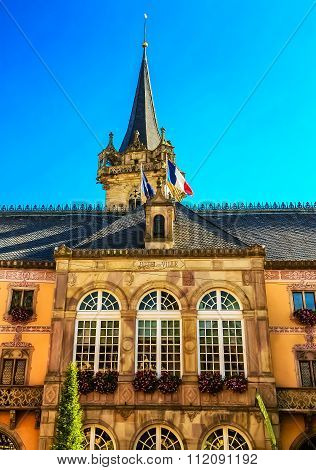 City Hall in Obernai, Alsace