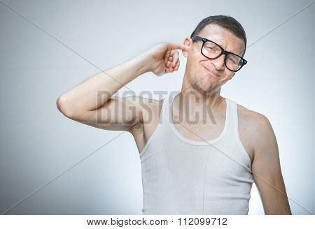 Man Has Itching In His Ear