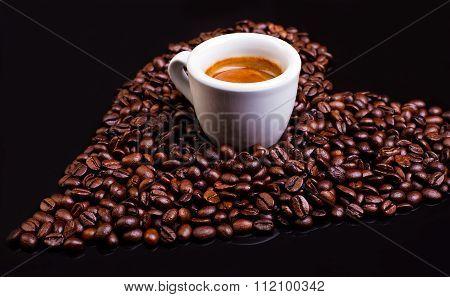Coffee Heart With Espresso