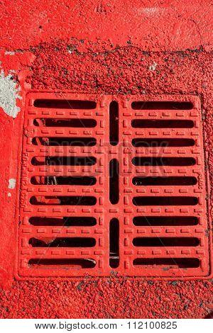 Manhole for rainwater