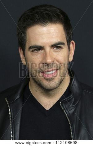 LOS ANGELES - DEC 7:  Eli Roth at the