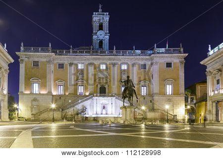 The Roman Capitolium in Rome