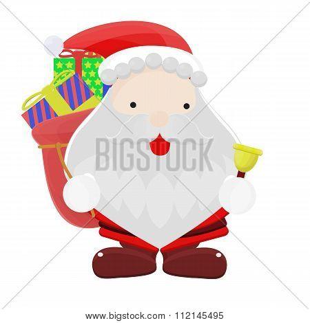 Santa Claus Cartoon Illustration Vector