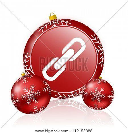 link christmas icon