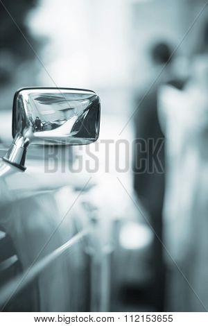 Wedding Luxury Car On Marriage Day