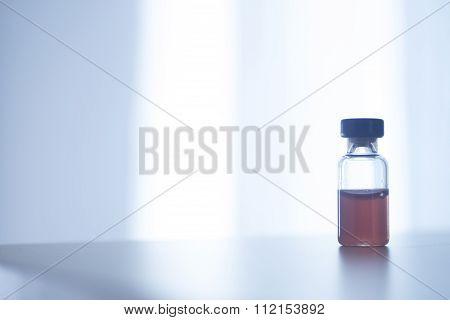 Phials Of Insulin Medication Bottle