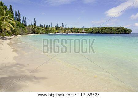 Beach At Kuto, Ile Des Pins, New Caledonia