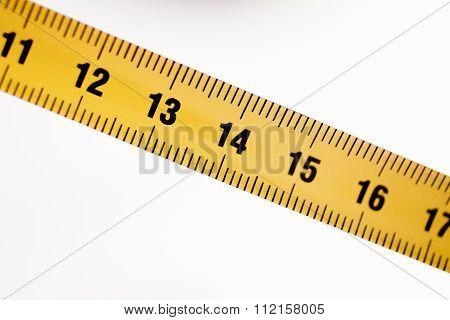 Measuring Tape Ruler Cm Numbers 13 14