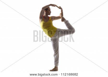 Prenatal Yoga, Lord Of The Dance Pose