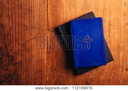 Holy Bible On Table