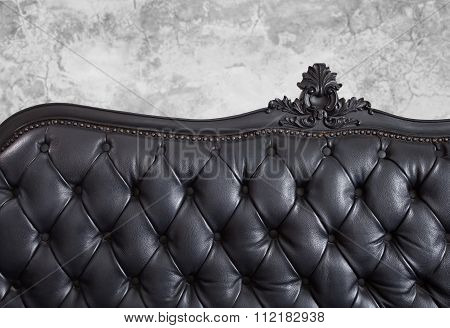 leather backrest
