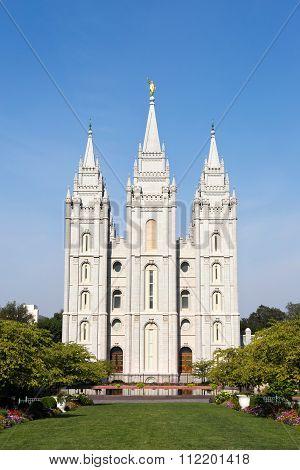 Mormon Temple Tabernacle Utah