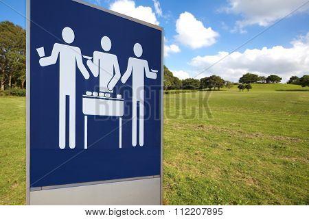 BBQ signboard