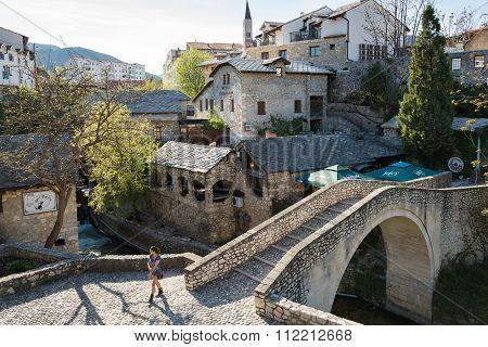 City of Mostar, Bosnia and Herzegovina