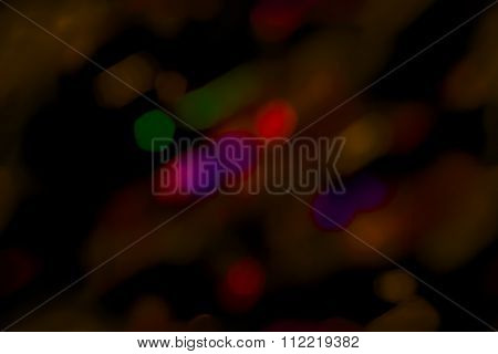 Seamless abstract pattern bokeh Christmas
