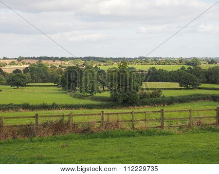 View Of Tanworth In Arden