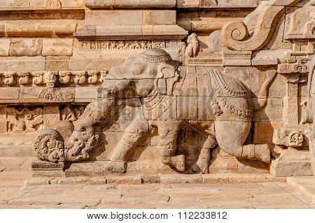 Airavatesvara Temple Darasuram Tamil Nadu, India.