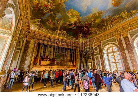 Salon d'Hercule, Versailles Palace, Paris, France