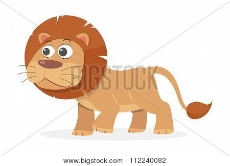 Cartoon Lion, vector