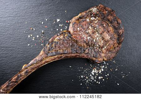 Dry Aged Barbecue Tomahawk Steak