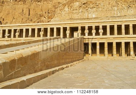 The Colonnade Of Hatshepsut Temple