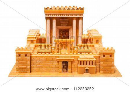 Part Of Herod's Temple
