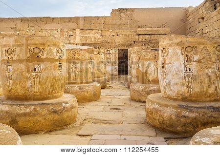 The Temple's Columns