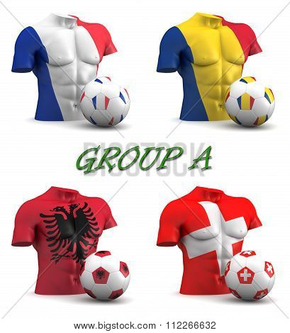 Group A European Football 2016