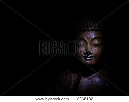 Buddha Face Low Key