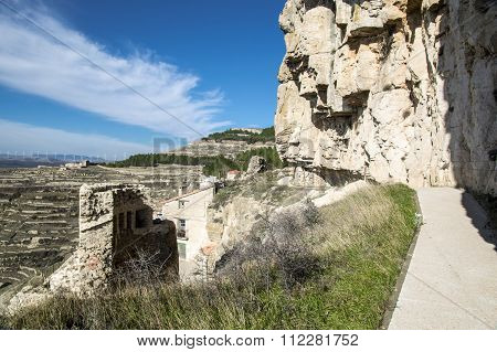 The Wall Of Ares Del Maestre