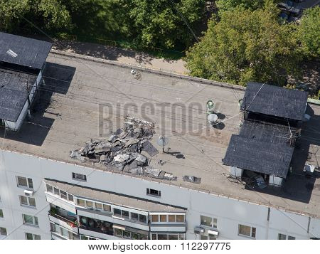 Repair Of The Roof Flat Roof