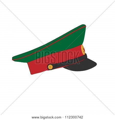 Peaked Cap Of A Army Officer