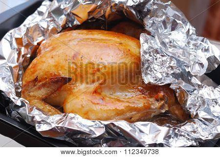 Roasting Chicken In Foil