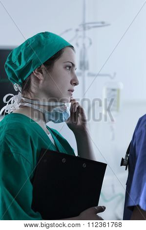 Surgeon Sad After Unsuccessful Operation