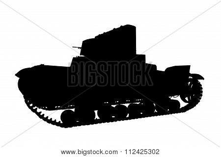 Silhouette Panzer